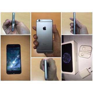 Dijual Iphone 6 16gb Space Gray, ios10, Fingerprint Lancar, Speaker Bagus, Tombol Lancar dan Berfungsi Semua, Kamera Mode Silent Bisa. Fullset box ( Charge, headset, kartu garansi ibox, case black 2)  Rp. 4jt / NEGO Minat contact  WA : 087702307560
