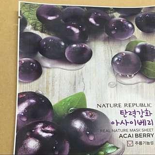 Nature Republic Korean Mask At $1