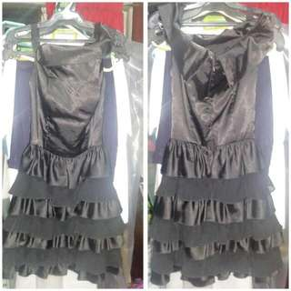 REPRICED!400PHP!!Black Sexy Party Dress