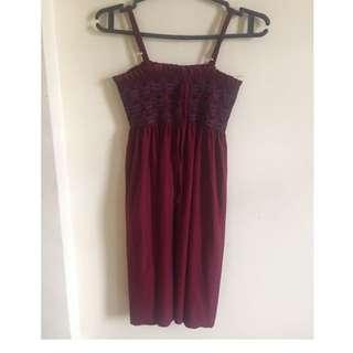 Bohemian Silk Dress