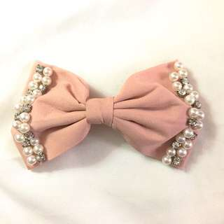 Jewelled Chiffon Bow