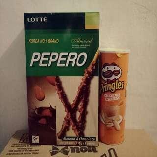 Pepero 8 x 32g Php 45 - 400