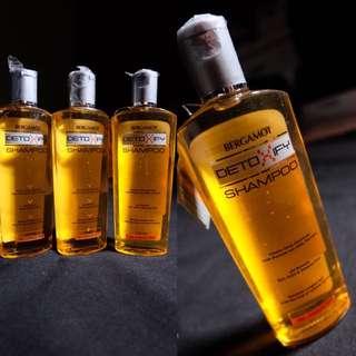 Shampoo bergamot detoxify for damage/dry hair