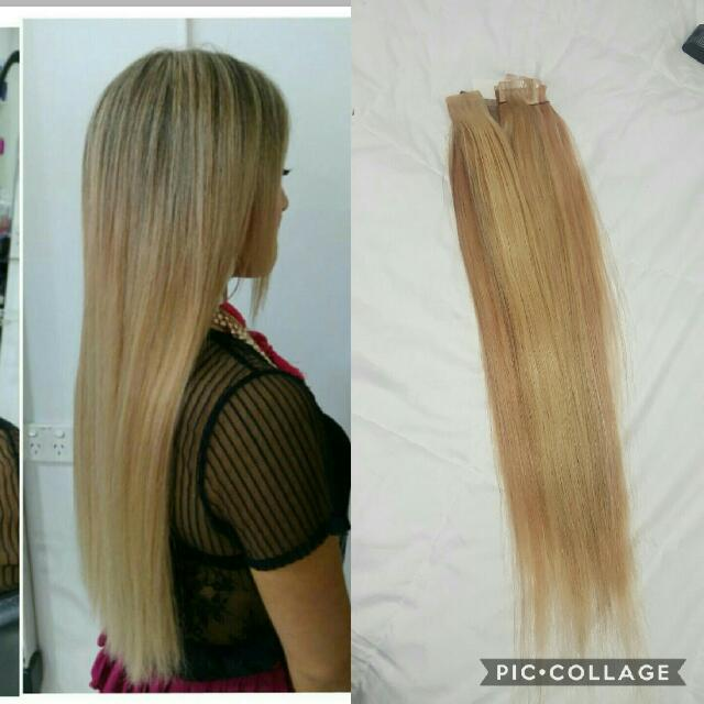 22' inch tape hair extensions