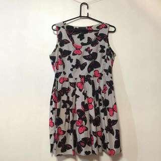 Kamiseta Butterfly/Gray Dress