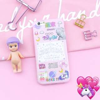 [PO] aesthetic pink harajuku tumblr soft case