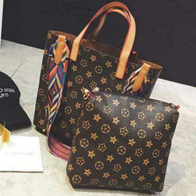 2 in 1 LV Bag - Code 002082