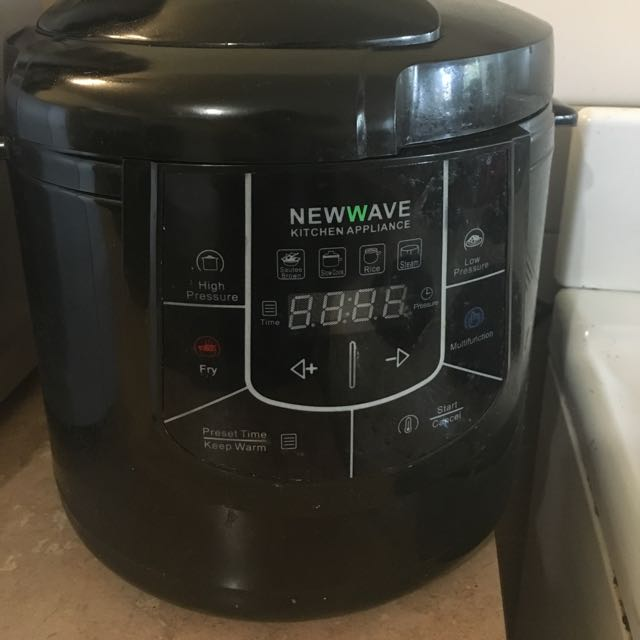 4 In 1 Pressure Cooker, Stir Fry, Steam, Slow Cooker