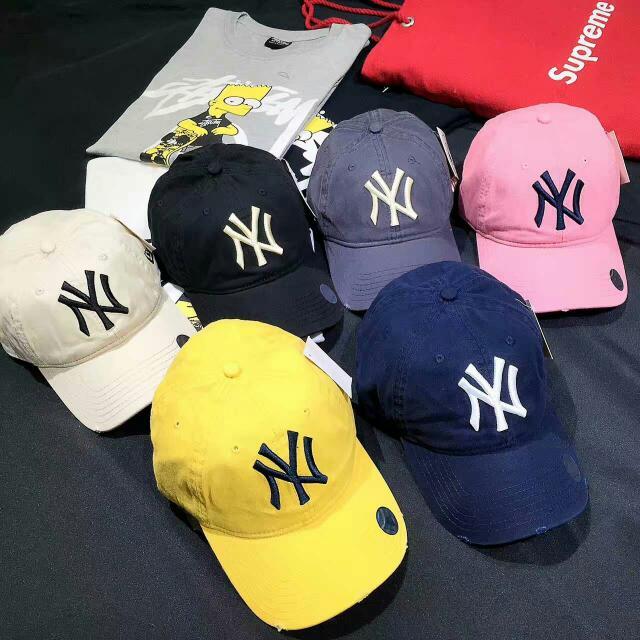 正品6色 NEW ERA NY帽 老帽 鴨舌帽 棒球帽 帽子 運動帽 遮陽帽 健身帽 帽 MLB NIKE ADIDAS