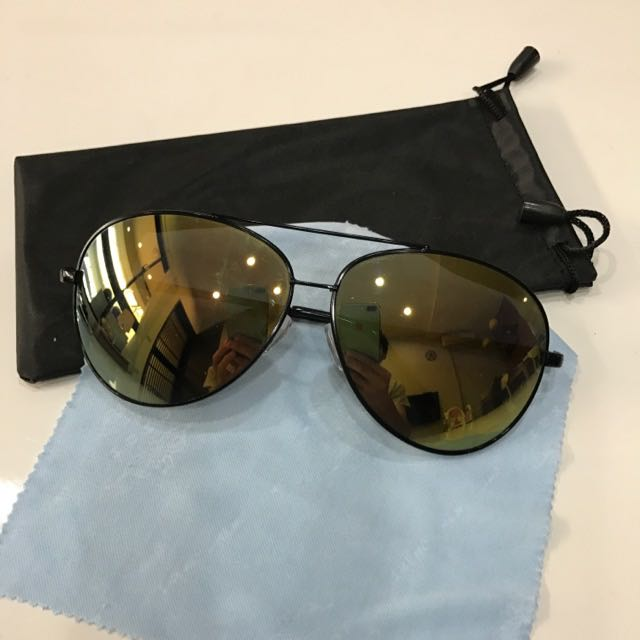 韓劇 墨鏡 太陽眼鏡 951橘水銀 抗UV400 墾丁 春吶 時尚 雅痞