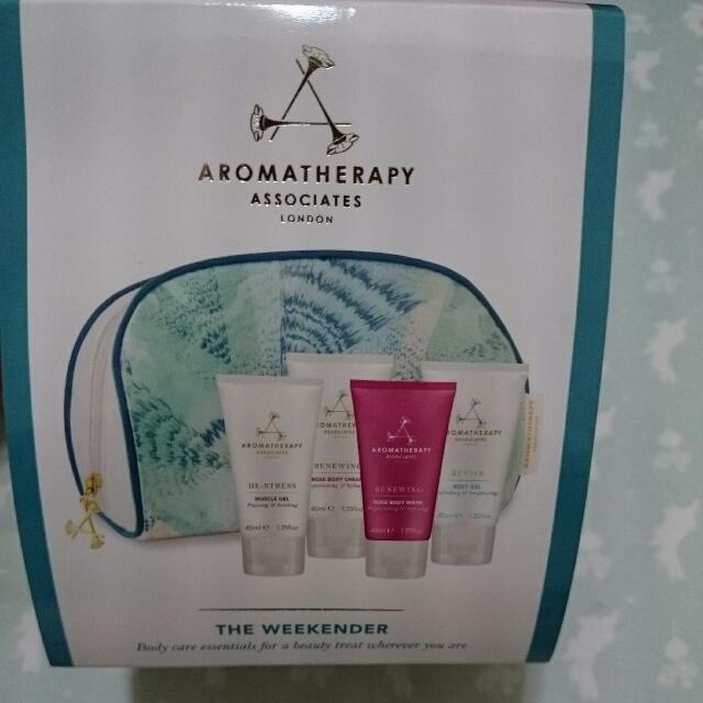 AA 品牌經典保養旅行組-英國限定版 (Aromatherapy Associates)