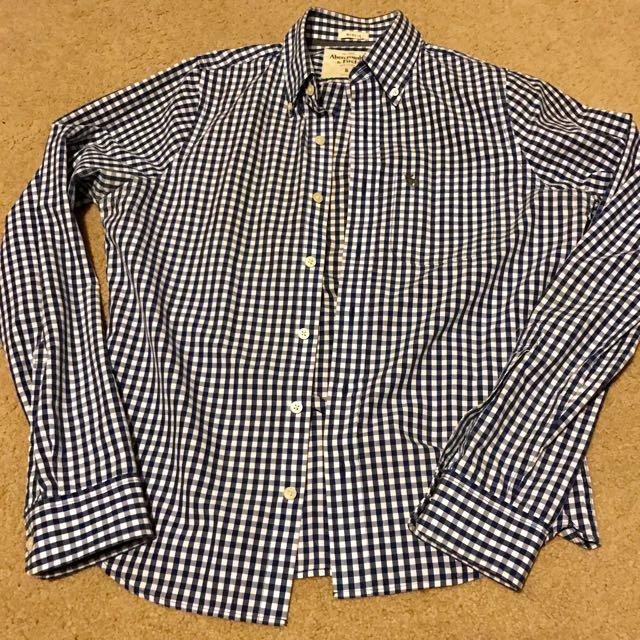 Abercrombie and Fitch Small Shirt - Gingham