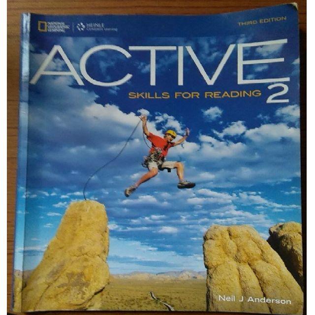 《免運費》ACTIVE SKILLS FOR READING 2(附光碟) #我有課本要賣 #運費我來出#含運最划算#教科書出清