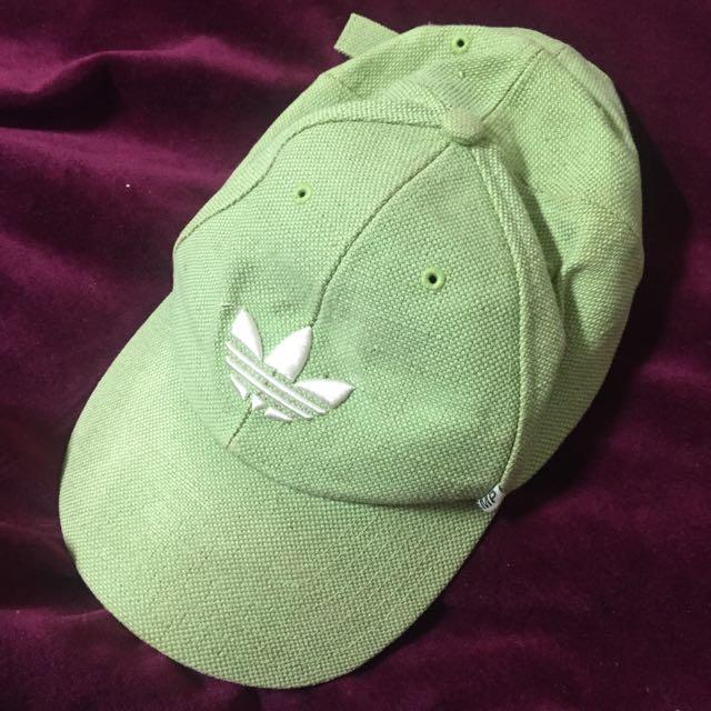 adidas淺綠色老帽#運費我來出