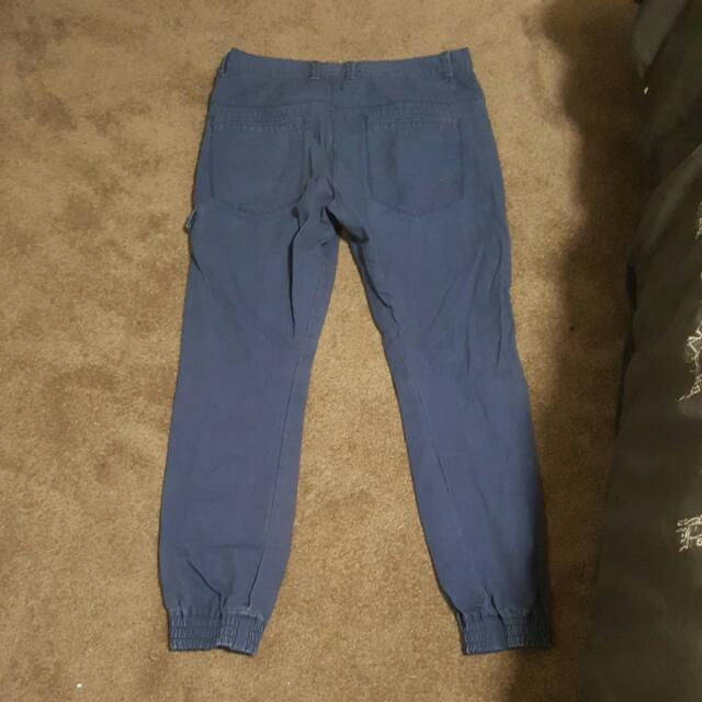 Ankle Cuffed Pants
