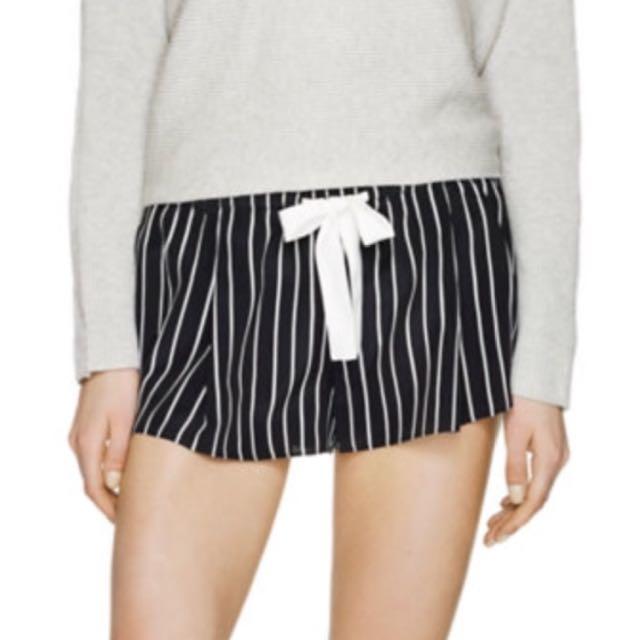 Aritzia Silk Shorts
