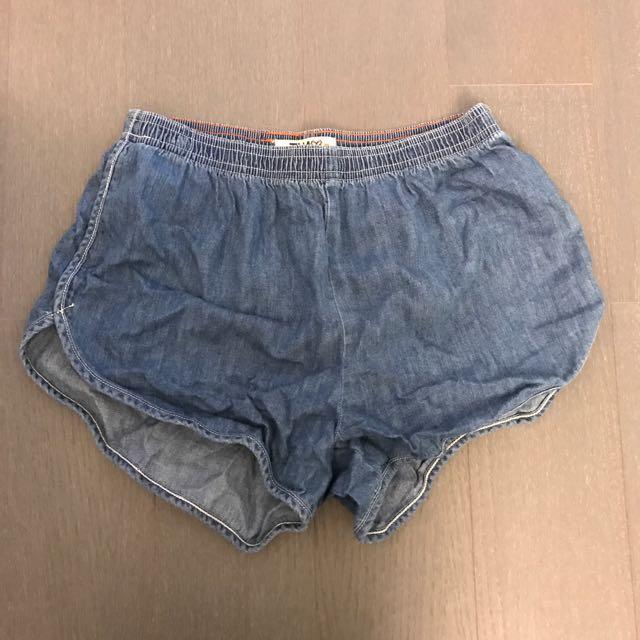 Aritzia Tna Denim Shorts