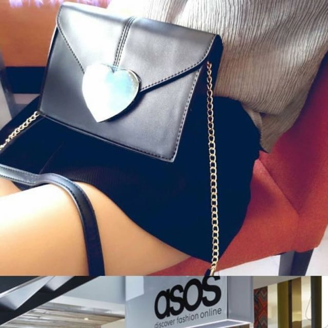 ASOS Love chain slingbag