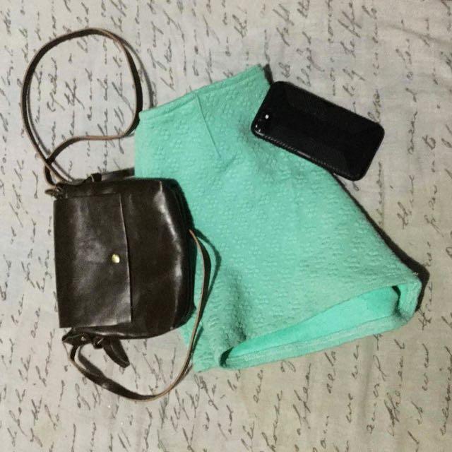 Mint Green Tiangge Shorts