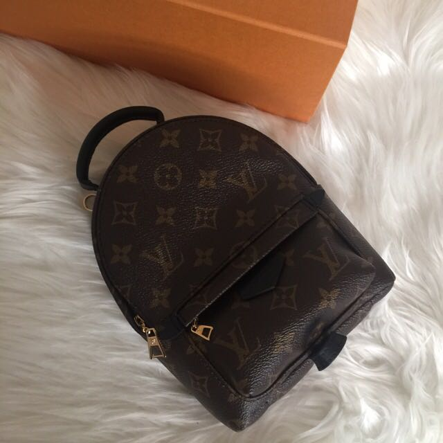 authentic LV Louis Vuitton Palm Springs Mini Backpack