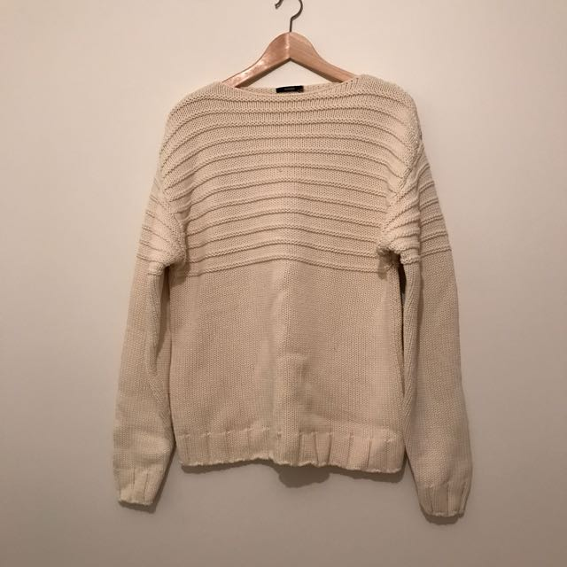 Bassike Knitted Jumper