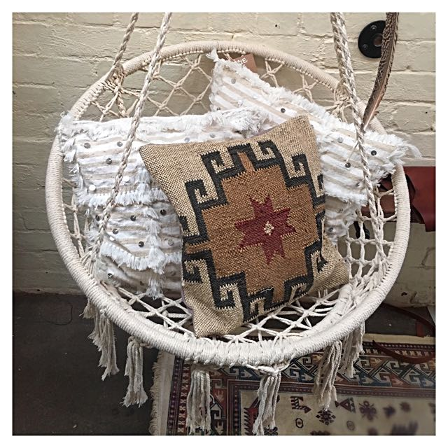 Beautiful Bohemian Handmade Macrame Hanging Seat