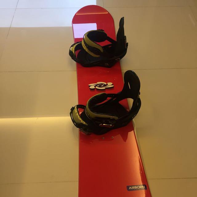 滑雪板+binding