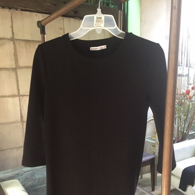 Black Zara Office Dress