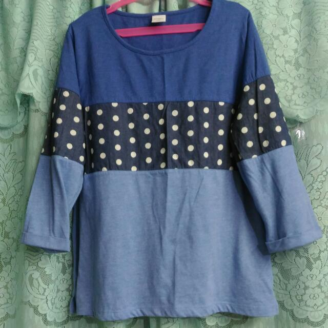 *REPRICED* Blue Top