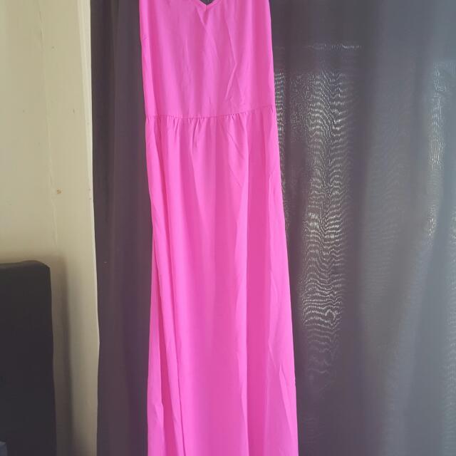 Boohoo.com Pink Dress