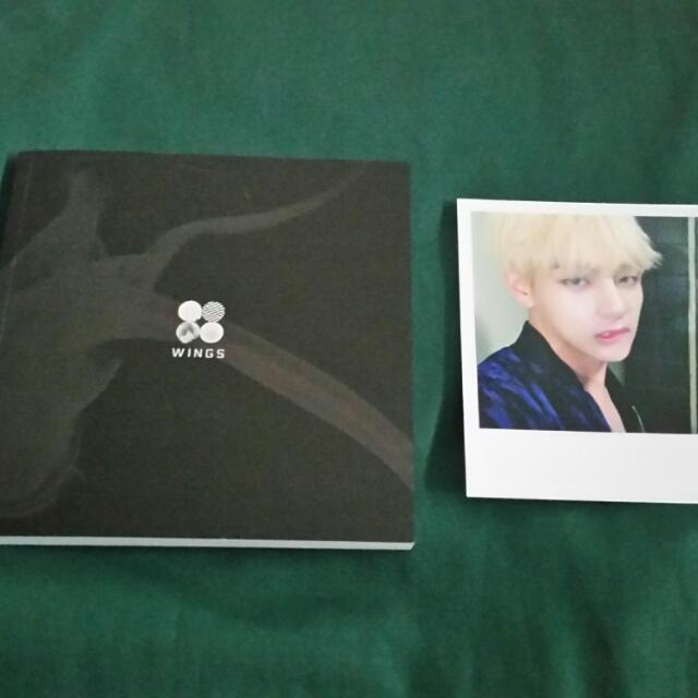 BTS WINGS With V PC