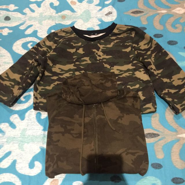 Camo Jumper/ Jacket