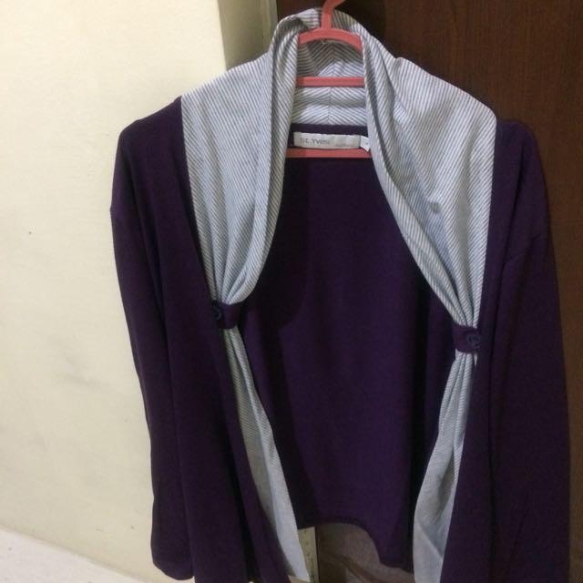 Cardigan  Bahan Kaos Turun Harga Dari Rp. 35.000,-