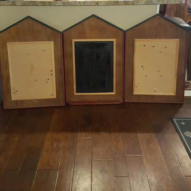 Chalkboard/Corkboard Wall Frames