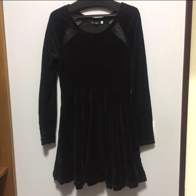 coco deal 絨布材質洋裝