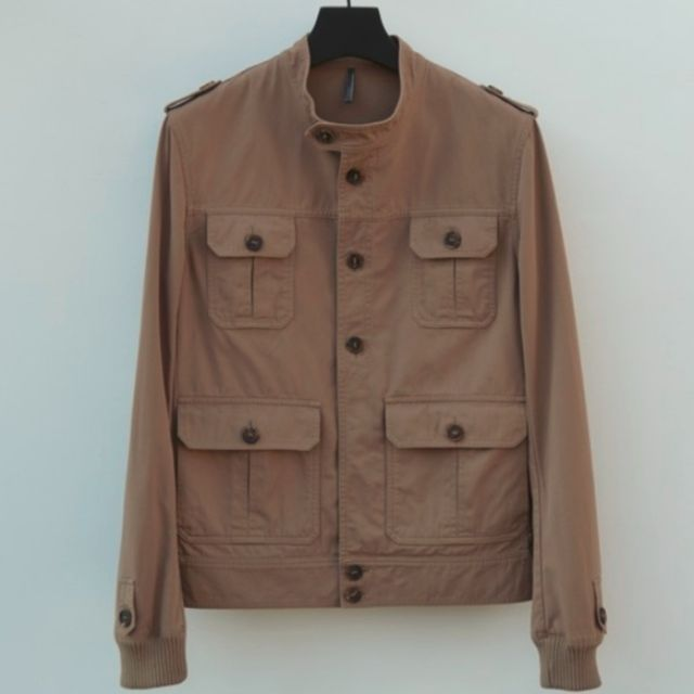 Dior Homme Ss06 Safari Jacket Men S Fashion Clothes On Carousell