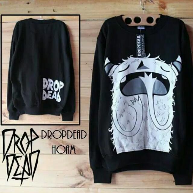 Drop Dead Sweater - Atasan/Jaket/Baju/Pakaian Pria