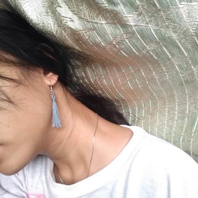Earrings handmade