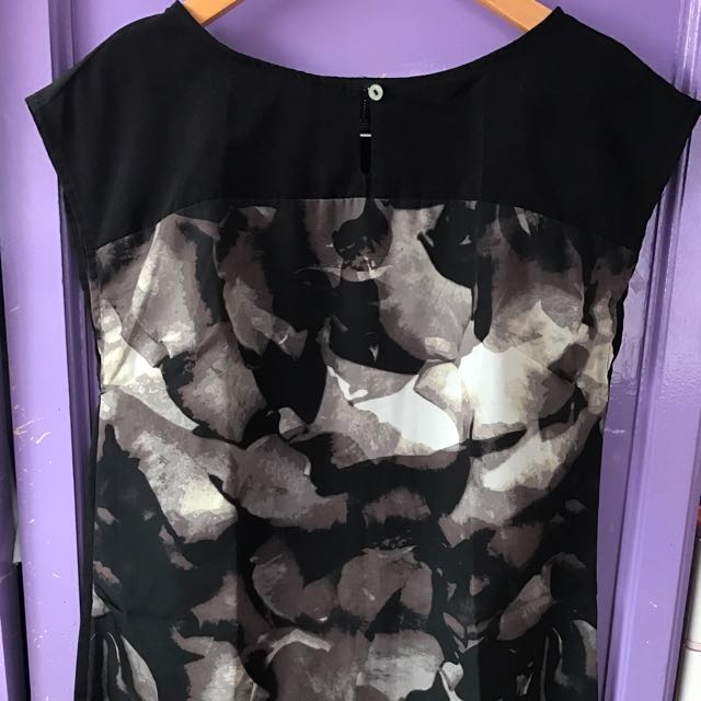 Forever 21 Black Dress