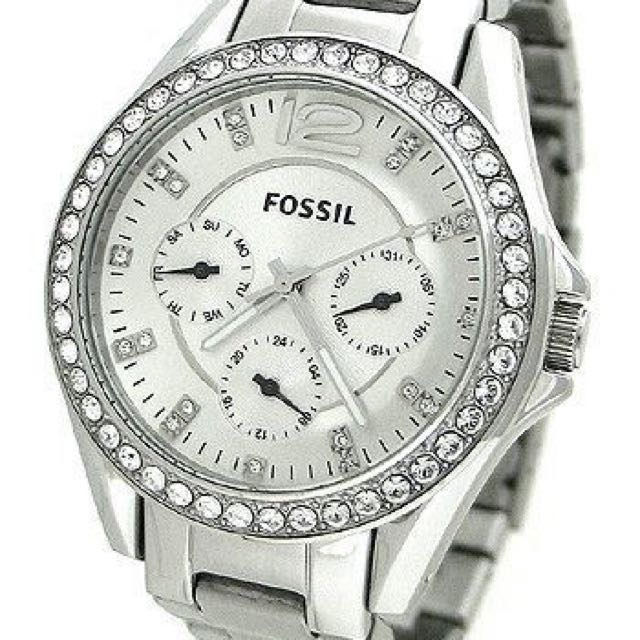 Fossil Riley Multifunction Silver