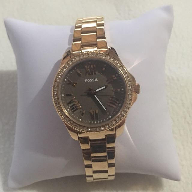 Fossil Rose Gold-plated Watch