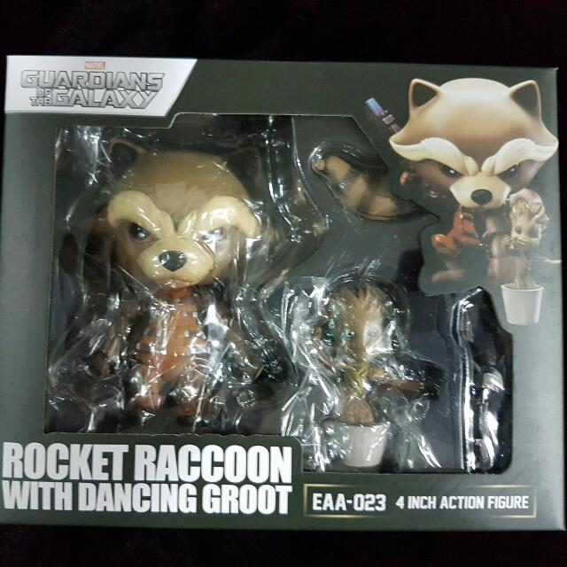 guardians of the galaxy rocket + groot