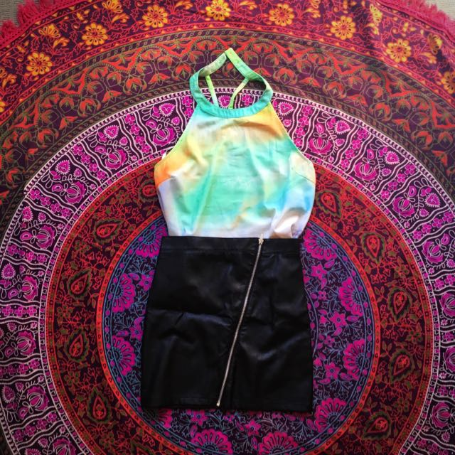 Halter Top - Evil Twin, Size M