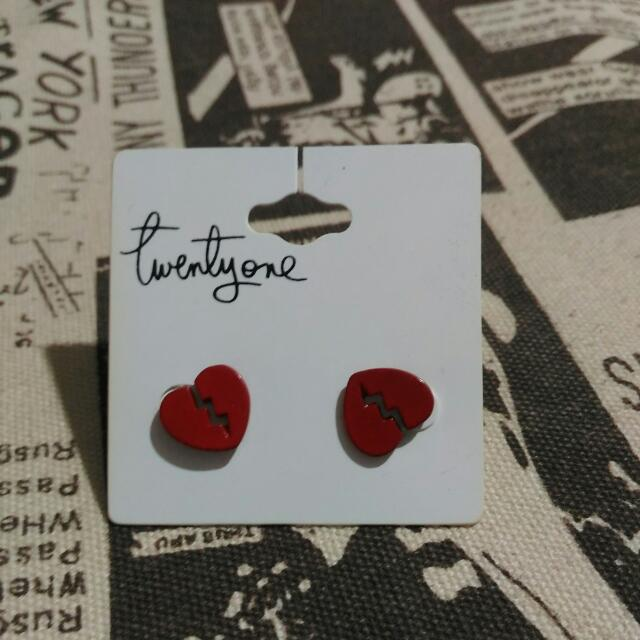 Heart Broken Earrings
