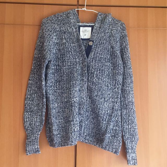 H&M厚針織外套