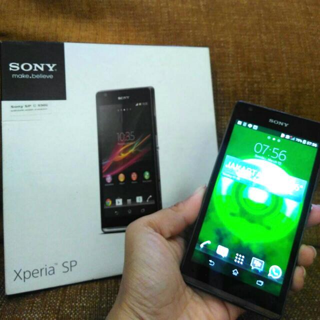 HP Murah 2nd Sony Xperia SP