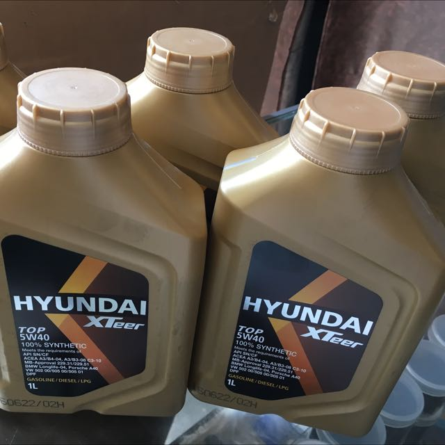 Hyundai Xteer Engine Oil - ATF and Other Korean Auto Parts on Carousell