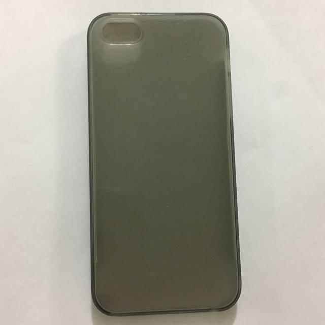 iPhone 5 Grey Silicon Case