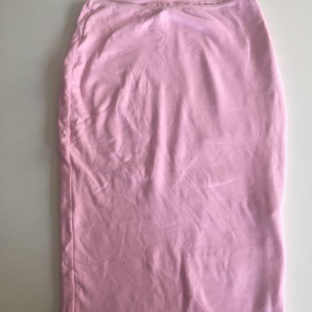 Kookï Midi Pink Skirt