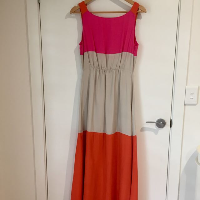 Kookai Silk Full Length Dress